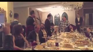 شاهد.. سعد لمجرد وملحم بركات ووائل جسار فى منزل محمد ياسين