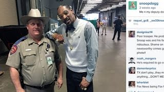 Picture With Snoop Dogg Gets Cop In Trouble