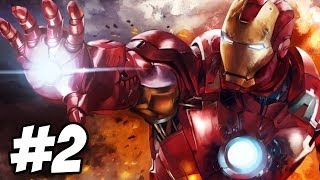 Iron Man 2 Walkthrough | Mission 2: Russia and Roxxon | Part 2 (Xbox360/PS3)
