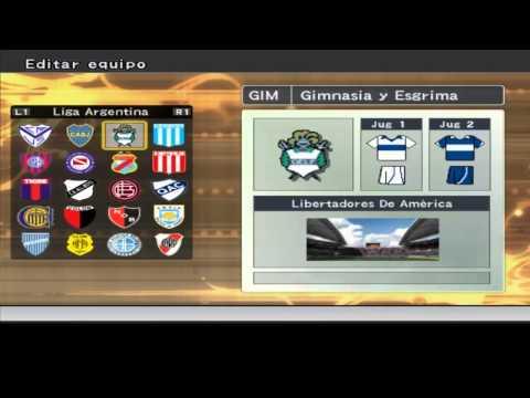 Liga argentina 2014-2015 pes 6 Video Mas Actualizado En La Descripcion