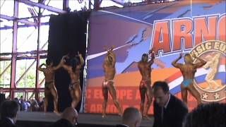 Women physique over 163 cm semifinal Arnold Classic Europe 2012