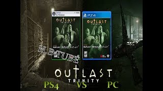 PS4 VS PC GAME PLAY  OUTLAST2 challenge