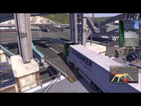 Euro Truck Simulator 2 Ferry(Calais - Dover)