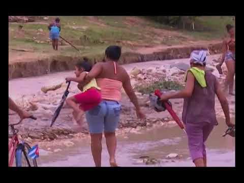 Afectaciones en Manuel Tames a causa de Huracan Irma
