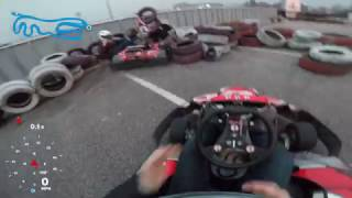 Dude's Girlfriend Insists On Trying Go Kart, And Here's The Result Of Her Attempt