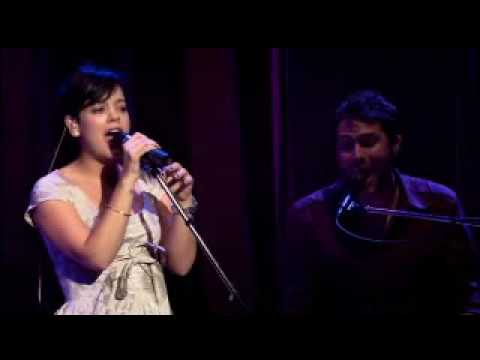 Lily Allen - Smile (Live With Keane)
