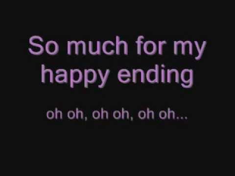 Lyrics to my happy ending
