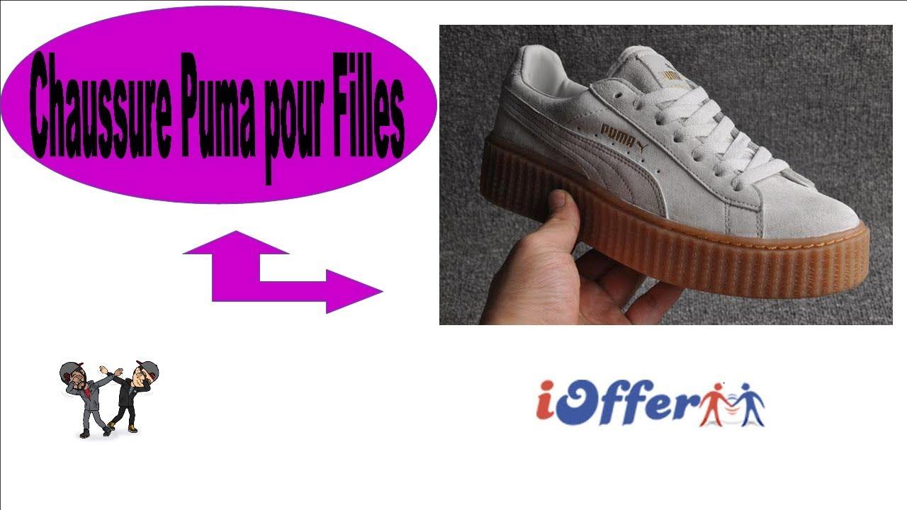 UNBOXING] iOFFER Chaussure Puma ( Modèle Femme) YouTube