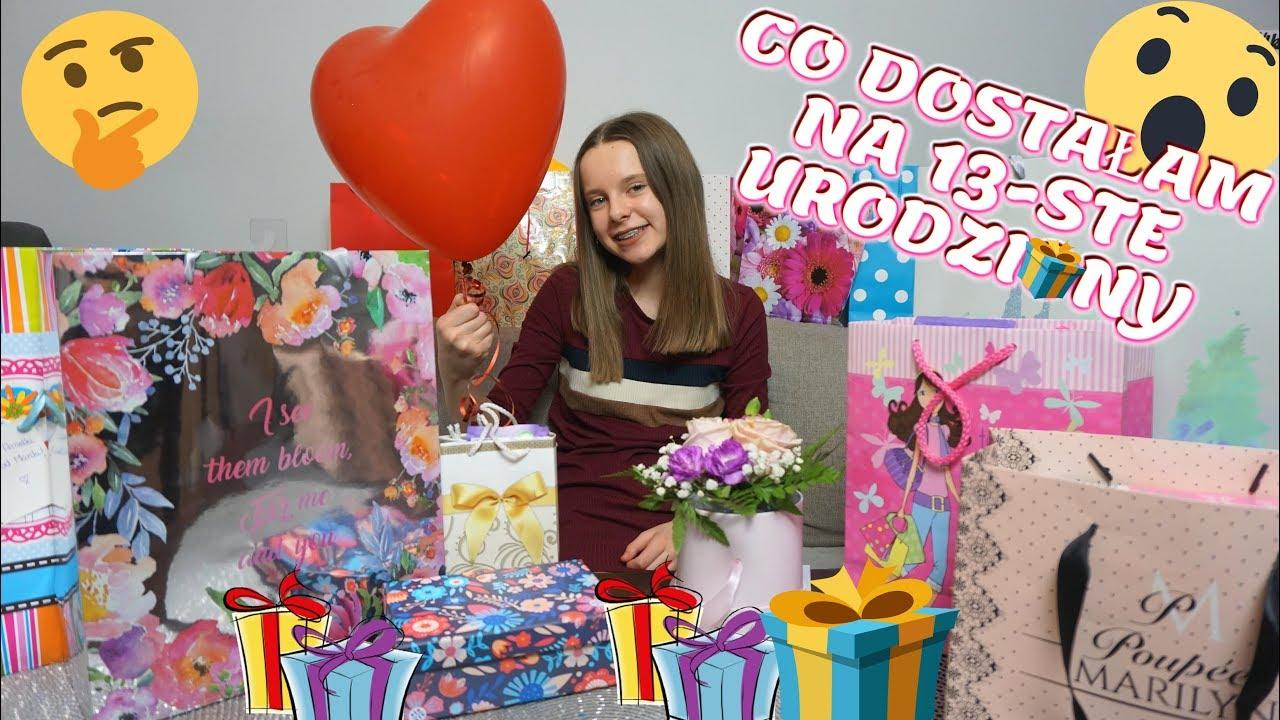 Co Dostalam Na 13 Ste Urodziny Prezenty Gifts Youtube