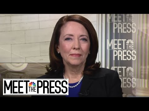 Maria Cantwell: Democrats' SCOTUS Vote Could Be 'Career-Ending' (Full) | Meet The Press | NBC News
