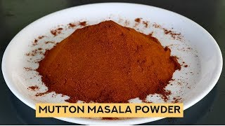How to Make Mutton Masala Powder -  Mutton Masala Powder Recipe