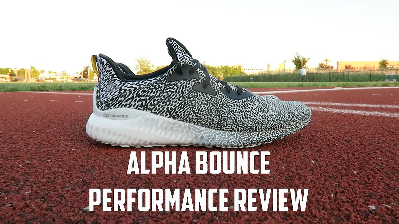 999d5bebaf84f adidas Alpha Bounce  5 Miles Later Performance Review - YouTube