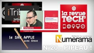 N°20 La revue Tech Numérama - Pipeau !