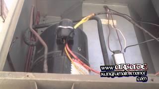 How To Repair Broken Air Conditioner Compressor Wiring Plus Fan Motor Not Starting