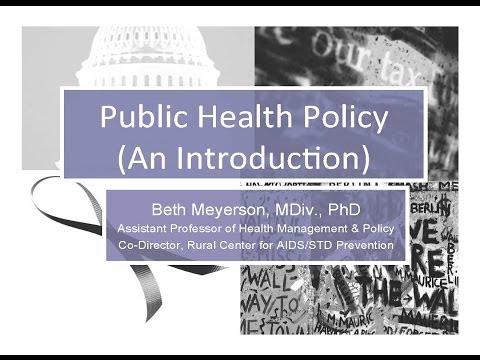 Defining health policy