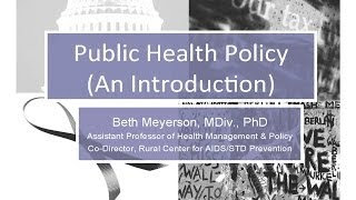 Defining health policy big P and little p November 2013