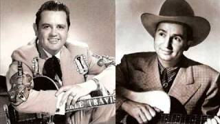 Merle Travis & Johnny Bond / When It
