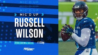 2019 Pro Bowl Mic'd Up: Russell Wilson vs AFC