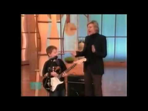 Amazing 6 Year Old Guitar Player - Quinn Sullivan