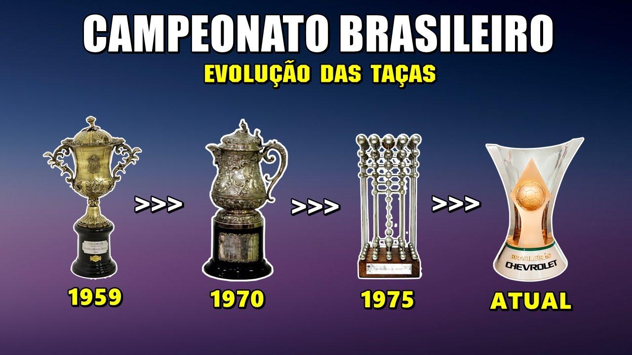EVOLUÇÃO DAS TAÇAS - Campeonato Brasileiro