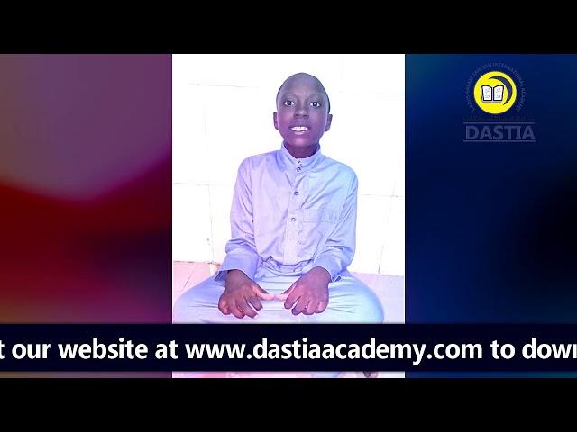 Darussalam Tahfidh Int'l Academy Lagos - Hadith Recitation