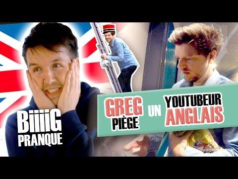 Pranque: Greg piège un Youtuber anglais (Callux) / Le réceptionniste envahissant