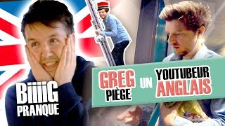 Pranque: Greg traps an English Youtuber (Callux) / The invading receptionist