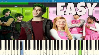How To Play Someday EASY Piano Tutorial - ZOMBIES - Milo Manheim, Meg Donnelly.mp3
