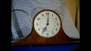 "Seth Thomas ""medbury"" Electric Westminster Chime Tambour Clock"