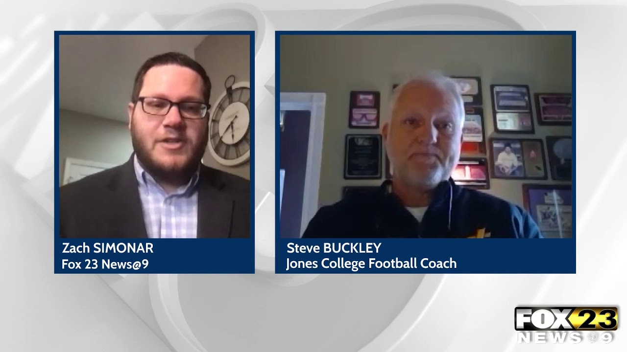 Jones College's football coach looks back at COVID-19-free season