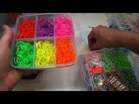 Rainbow Loom набор резинок для плетения браслетов