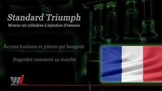Animation d'un moteur de la Triumph TR6 v2.0 - Français