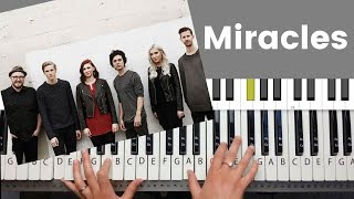 Miracles -Jesus Culture Piano Tutorial and Chords