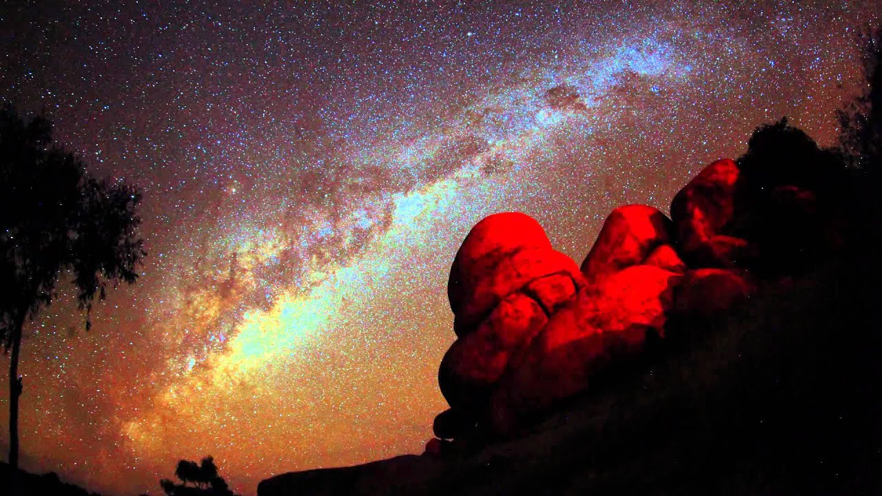 Night Sky In Wauchope Devils Marbles Youtube
