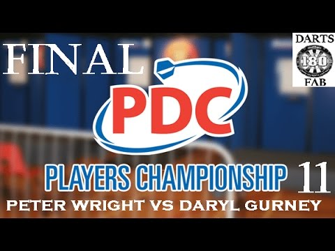 Players Championship 11 - FINAL & Interview HD [1080p] - Peter Wright vs Daryl Gurney