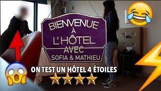 ♡ BIENVENUE À L'HÔTEL #1 - TEST D'UN HÔTEL 4 ÉTOILES ♡