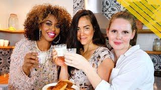 Vegan Cookies + Milk w/Claire + Laurel - GloZell xoxo