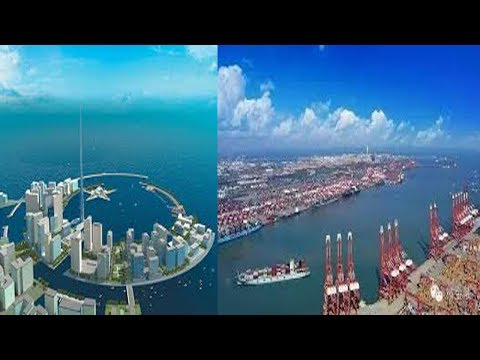 GWADAR PORT LATEST NEWS 2018 MARINE DRIVE AERIAL VIEW EXPO CENTER CPEC LATEST UPDATE