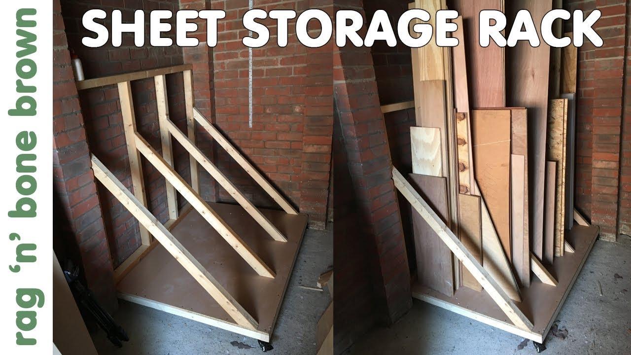 Storage Rack For Sheet Materials Plywood Osb Mdf Chipboard Melamine Etc