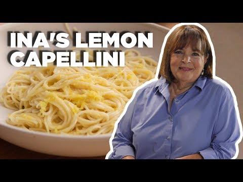 the-easiest-lemon-pasta-recipe-with-ina-garten- -food-network