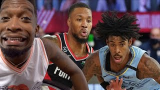ALL THIS TO GET SWEPT LMFAO! Portland Trail Blazers vs Memphis Grizzlies - Full Game Highlights