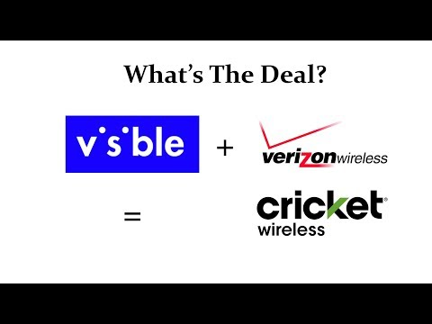 """Verizon's NEW Wireless Carrier """"Visible"""" Is Going Head To Head With Cricket Wireless!"""