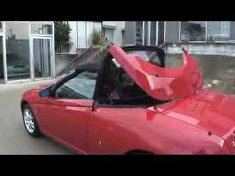 alfa romeo 916 spider youtube. Black Bedroom Furniture Sets. Home Design Ideas