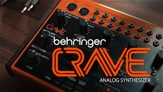 Behringer Crave Desktop Semi Modular Analogue Synthesiser /& Sequencer