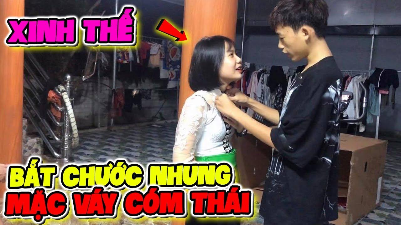 """Lần Đầu Khánh Ly Mặc Thử """"Váy Thái"""" Trước Mặt Kelly Và Cái Kết?"""