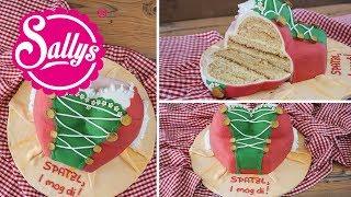 Oktoberfest Dirndl 3D Torte / Motivtorte / Geburtstagstorte