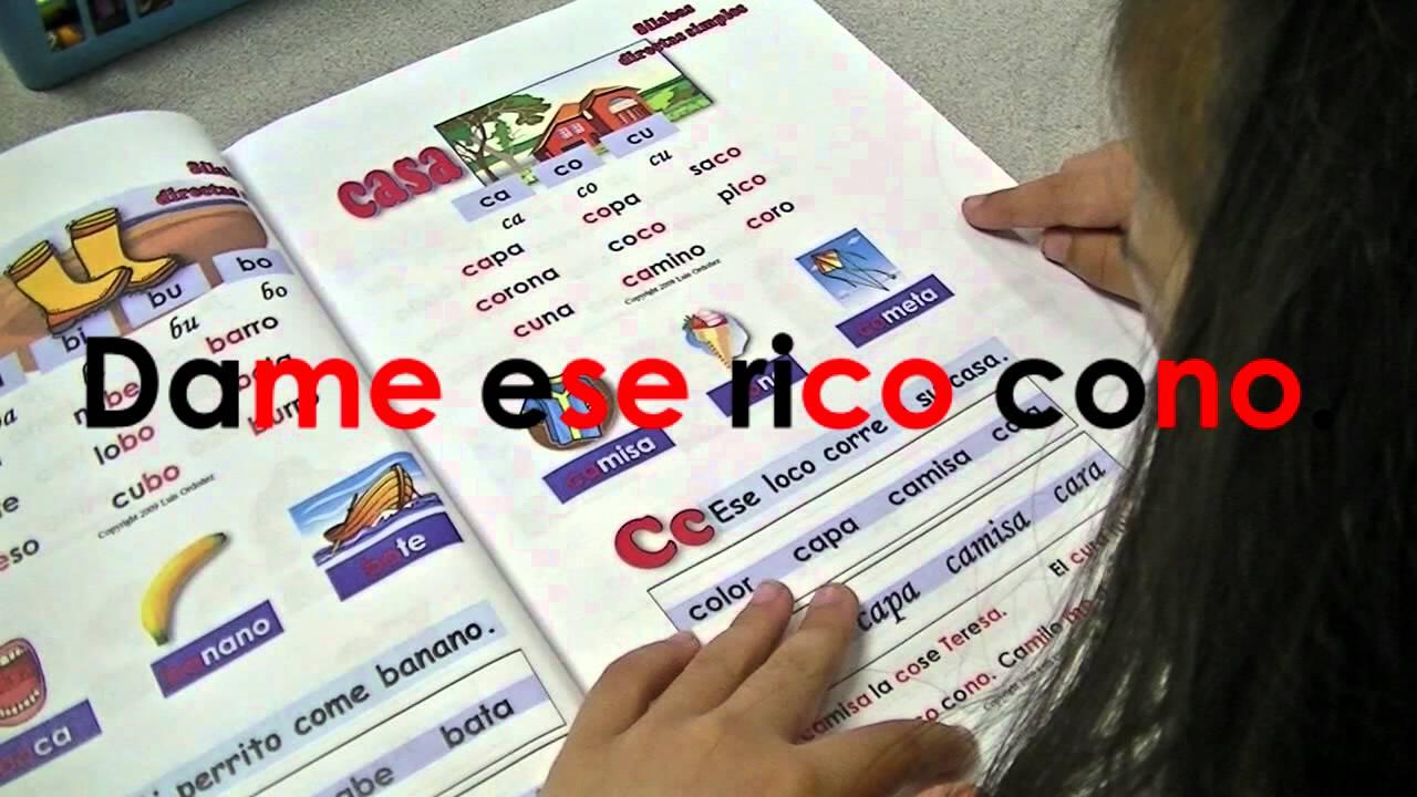 Aprender a leer con Luchín - YouTube
