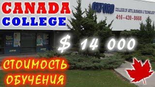 Стоимость обучения в колледже Торонто за год $14000 | Жизнь в Канаде | Oxford College Toronto