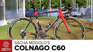 Sacha Modolo's Colnago C60