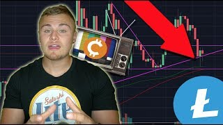This Is Why Litecoin & Bitcoin Are Falling. Correction Finally Over? Scared?